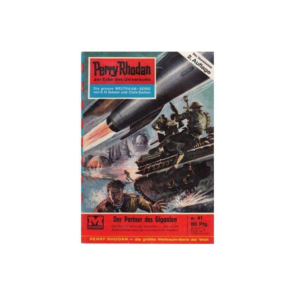 Moewig Perry Rhodan 2. Auflage Nr.: 41 - Darlton, Clark: Der Partner des Giganten Z(1-2)