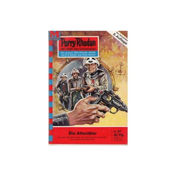 Moewig Perry Rhodan 2. Auflage Nr.: 57 - Mahr, Kurt: Die Attentäter Z(1-2)