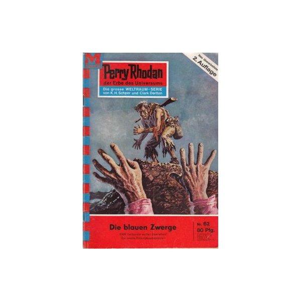 Moewig Perry Rhodan 2. Auflage Nr.: 62 - Mahr, Kurt: Die blauen Zwerge Z(1-2)