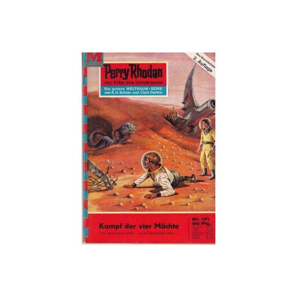 Moewig Perry Rhodan 2. Auflage Nr.: 171 - Darlton, Clark: Kampf der vier Mächte Z(1-2)