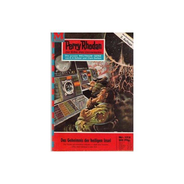 Moewig Perry Rhodan 2. Auflage Nr.: 172 - Mahr, Kurt: Das Geheimnis der heiligen Insel Z(1-2)