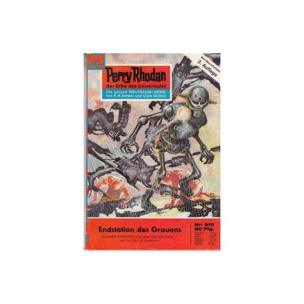 Moewig Perry Rhodan 2. Auflage Nr.: 215 - Ewers, H. G.: Endstation des Grauens Z(1-2)