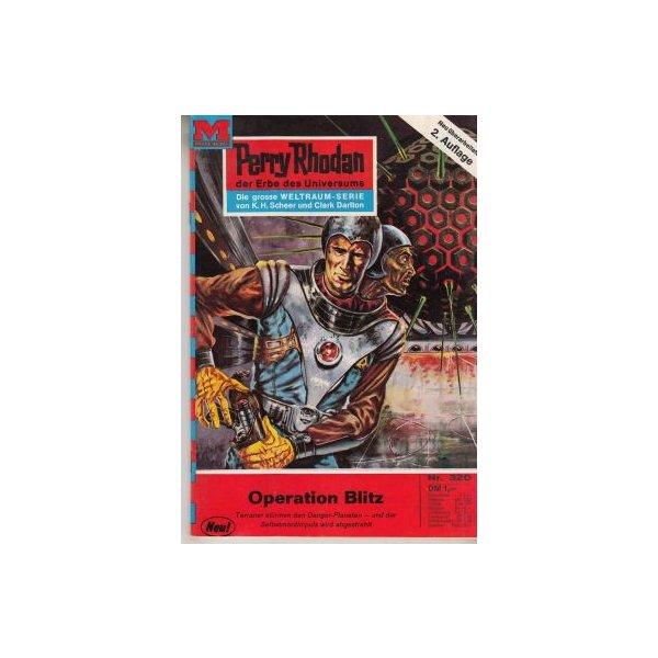Moewig Perry Rhodan 2. Auflage Nr.: 320 - Darlton, Clark: Operation Blitz Z(1-2)