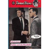 Zauberkreis Butler Parker 2. Auflage Nr.: 17 - Acton, John D.: Parker und die Mordfalle Z(1-2)