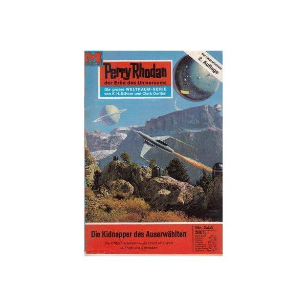 Moewig Perry Rhodan 2. Auflage Nr.: 344 - Darlton, Clark: Die Kidnapper des Auserwählten Z(1-2)