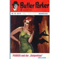 Zauberkreis Butler Parker 2. Auflage Nr.: 70 - Dönges, Günter: Parker und der Geigenklau Z(1-2)