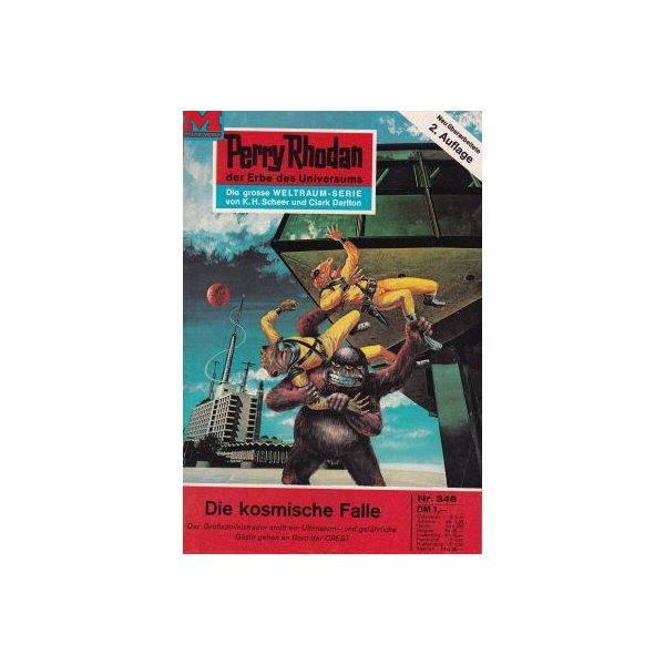 Moewig Perry Rhodan 2. Auflage Nr.: 348 - Darlton, Clark: Die kosmische Falle Z(1-2)