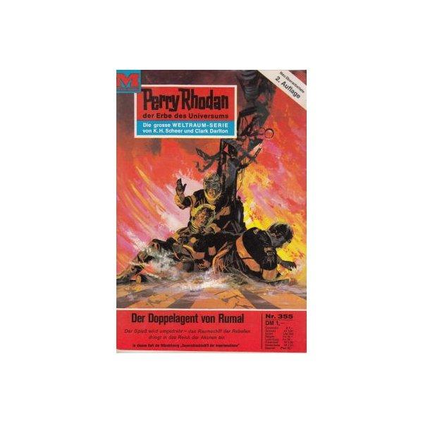 Moewig Perry Rhodan 2. Auflage Nr.: 355 - Voltz, William: Der Doppelagent von Rumal Z(1-2)