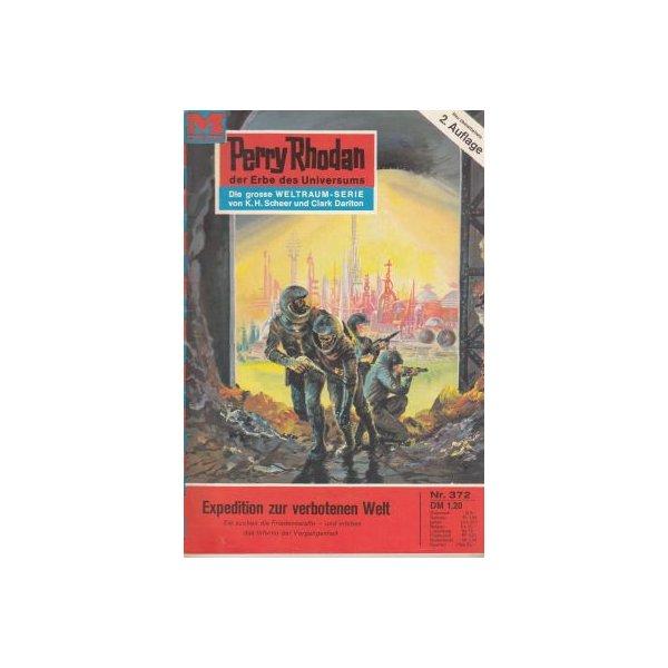 Moewig Perry Rhodan 2. Auflage Nr.: 372 - Kneifel, Hans: Expedition zur verbotenen Welt Z(1-2)