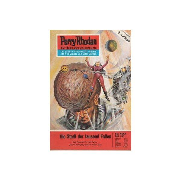 Moewig Perry Rhodan 2. Auflage Nr.: 433 - Voltz, William: Die Stadt der tausend Fallen Z(1-2)
