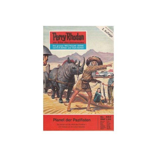 Moewig Perry Rhodan 2. Auflage Nr.: 452 - Voltz, William: Planet der Pazifisten Z(1-2)