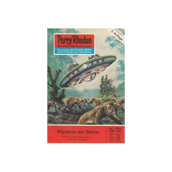 Moewig Perry Rhodan 2. Auflage Nr.: 454 - Darlton, Clark: Plünderer der Sterne Z(1-2)