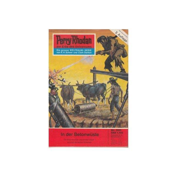 Moewig Perry Rhodan 2. Auflage Nr.: 501 - Voltz, William: In der Betonwüste Z(1-2)