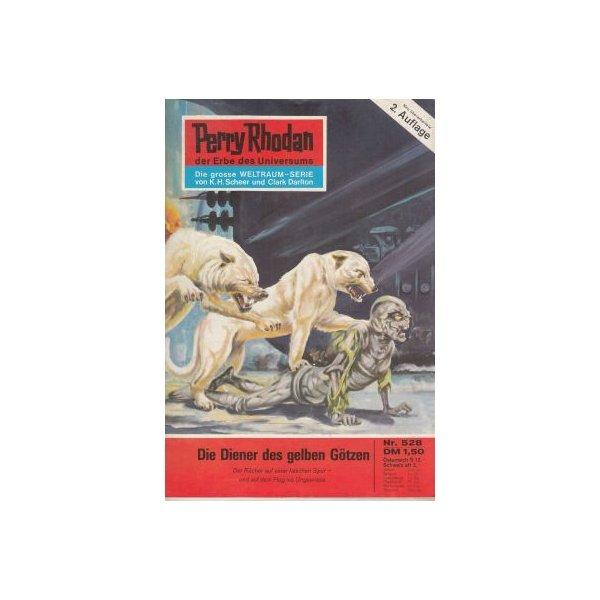 Moewig Perry Rhodan 2. Auflage Nr.: 528 - Kneifel, Hans: Die Diener des gelben Götzen Z(1-2)