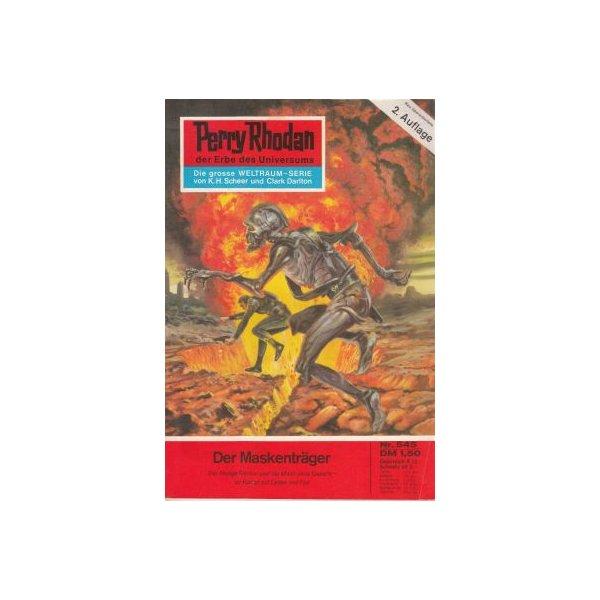 Moewig Perry Rhodan 2. Auflage Nr.: 545 - Voltz, William: Der Maskenträger Z(1-2)