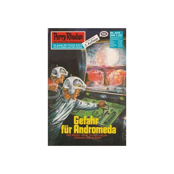 Moewig Perry Rhodan 2. Auflage Nr.: 615 - Voltz, William: Gefahr für Andromeda Z(1-2)