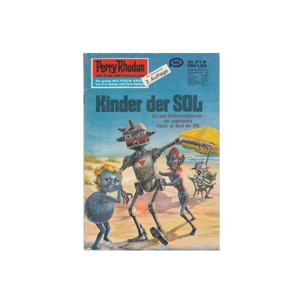Moewig Perry Rhodan 2. Auflage Nr.: 714 - Ewers, H. G.: Kinder der SOL Z(1-2)