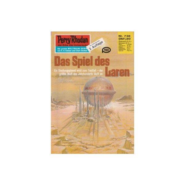 Moewig Perry Rhodan 2. Auflage Nr.: 738 - Ewers, H. G.: Das Spiel des Laren Z(1-2)