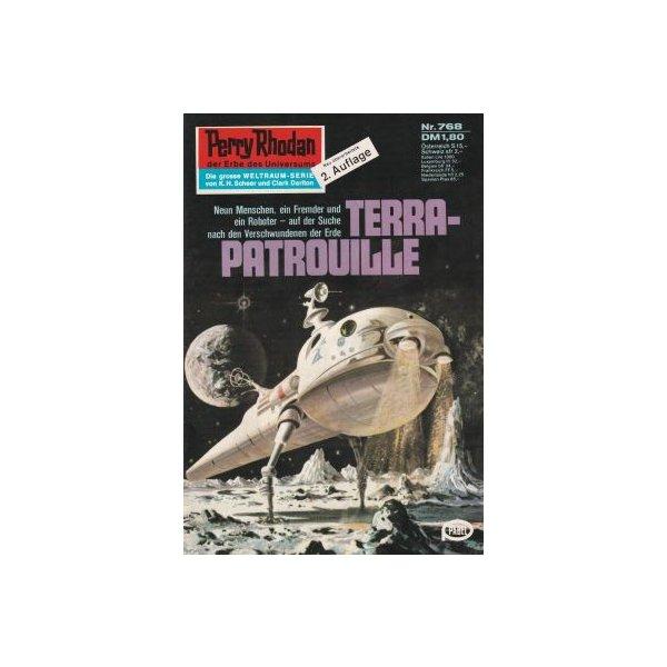 Moewig Perry Rhodan 2. Auflage Nr.: 768 - Voltz, William: Terra-Patrouille Z(1-2)