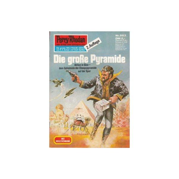 Moewig Perry Rhodan 2. Auflage Nr.: 883 - Kneifel, Hans: Die große Pyramide Z(1-2)