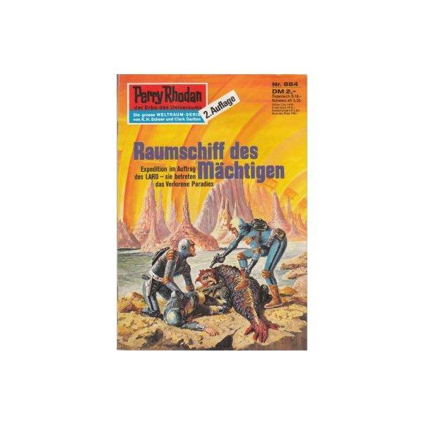 Moewig Perry Rhodan 2. Auflage Nr.: 884 - Voltz, William: Raumschiff des Mächtigen Z(1-2)