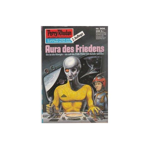Moewig Perry Rhodan 2. Auflage Nr.: 908 - Voltz, William: Aura des Friedens Z(1-2)