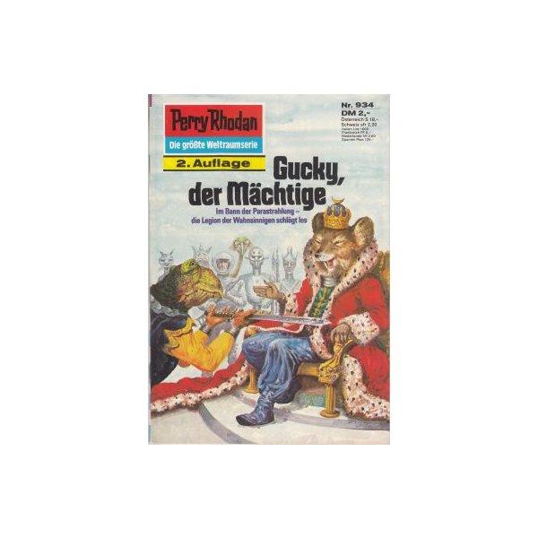 Moewig Perry Rhodan 2. Auflage Nr.: 934 - Francis, H. G.: Gucky, der Mächtige Z(1-2)