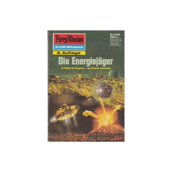 Moewig Perry Rhodan 2. Auflage Nr.: 945 - Mahr, Kurt: Die Energiejäger Z(1-2)