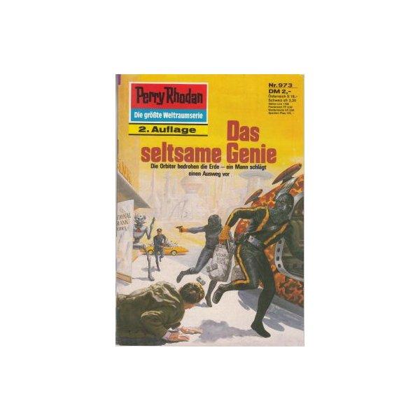 Moewig Perry Rhodan 2. Auflage Nr.: 973 - Francis, H. G.: Das seltsame Genie Z(1-2)