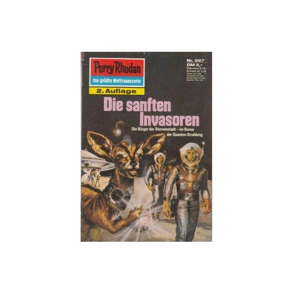 Moewig Perry Rhodan 2. Auflage Nr.: 987 - Sydow, Marianne: Die sanften Invasoren Z(1-2)