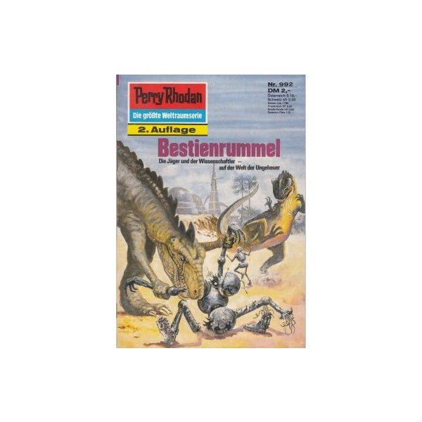 Moewig Perry Rhodan 2. Auflage Nr.: 992 - Griese, Peter: Bestienrummel Z(1-2)