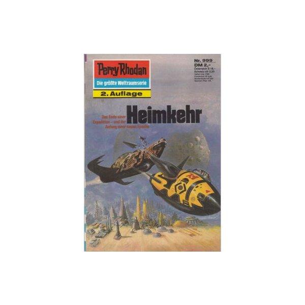 Moewig Perry Rhodan 2. Auflage Nr.: 999 - Francis, H. G.: Heimkehr Z(1-2)
