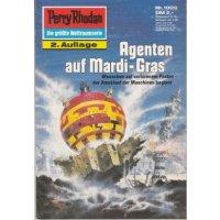 Moewig Perry Rhodan 2. Auflage Nr.: 1009 - Vlcek, Ernst: Agenten auf Mardi-Gras Z(1-2)
