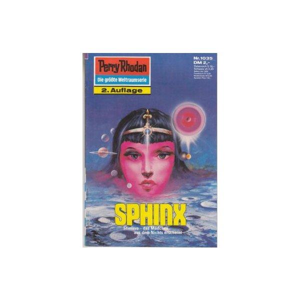 Moewig Perry Rhodan 2. Auflage Nr.: 1035 - Voltz, William: Sphinx Z(1-2)
