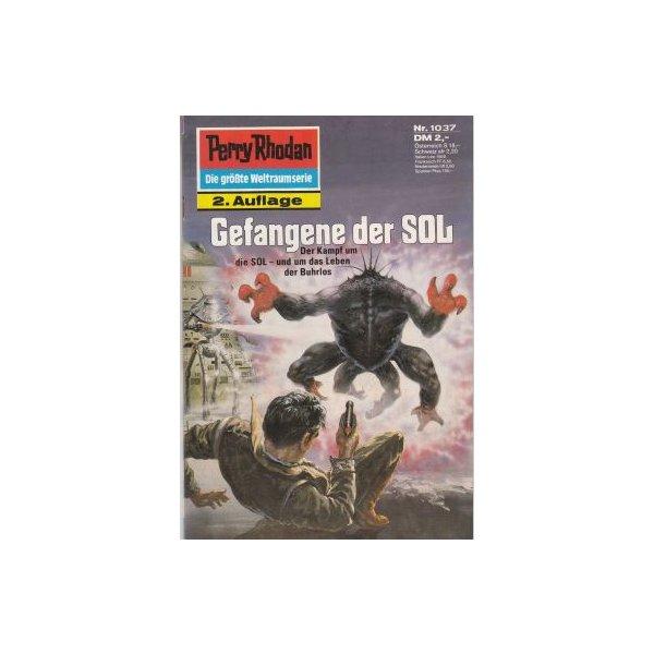 Moewig Perry Rhodan 2. Auflage Nr.: 1037 - Terrid, Peter: Gefangene der SOL Z(1-2)