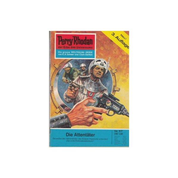 Moewig Perry Rhodan 3. Auflage Nr.: 57 - Mahr, Kurt: Die Attentäter Z(1-2)