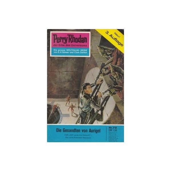 Moewig Perry Rhodan 3. Auflage Nr.: 72 - Mahr, Kurt: Die Gesandten von Aurigel Z(1-2)