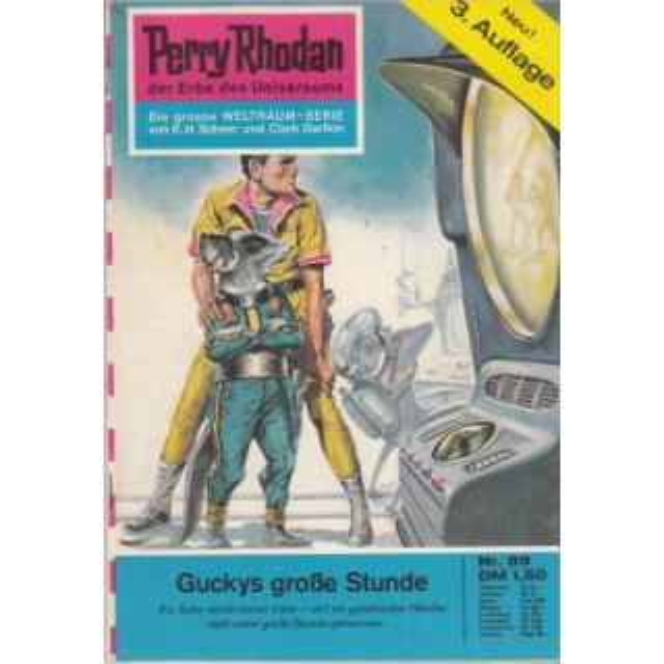 Moewig Perry Rhodan 3. Auflage Nr.: 89 - Brand, Kurt: Guckys große Stunde Z(1-2)