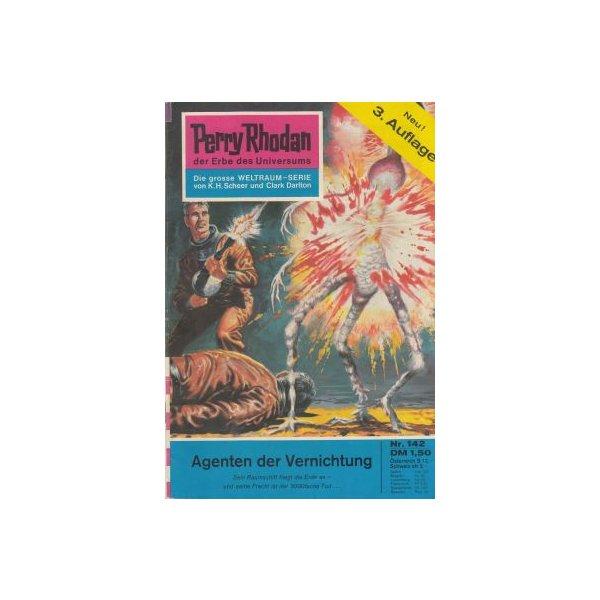 Moewig Perry Rhodan 3. Auflage Nr.: 142 - Brand, Kurt: Agenten der Vernichtung Z(1-2)
