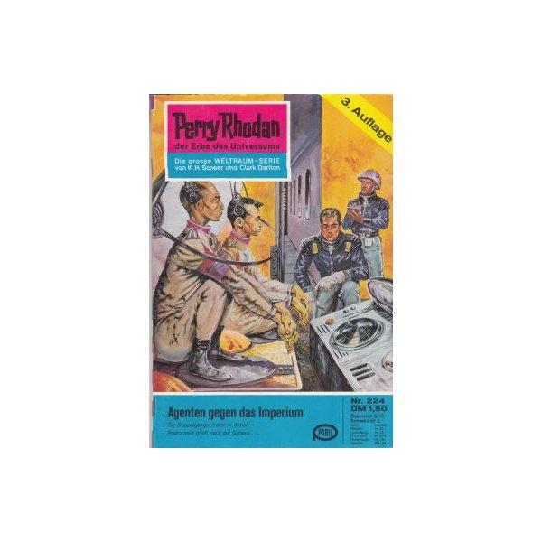 Moewig Perry Rhodan 3. Auflage Nr.: 224 - Darlton, Clark: Agenten gegen das Imperium Z(1-2)