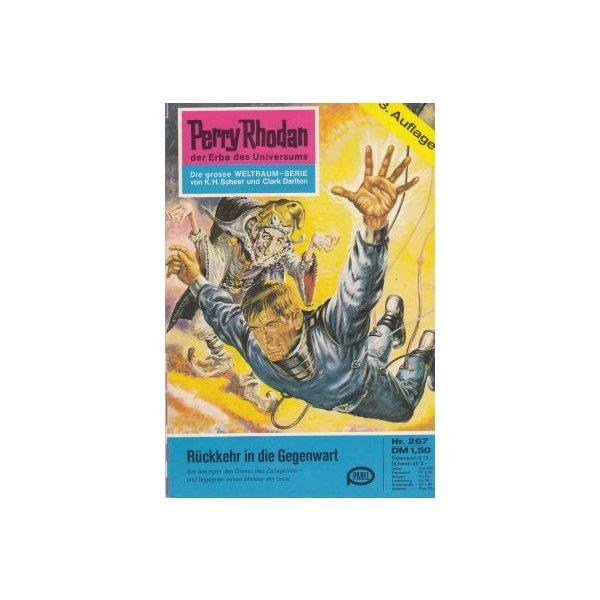 Moewig Perry Rhodan 3. Auflage Nr.: 267 - Mahr, Kurt: Die Rückkehr in die Gegenwart Z(1-2)