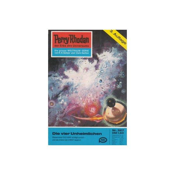 Moewig Perry Rhodan 3. Auflage Nr.: 327 - Scheer, K. H.: Die vier Unheimlichen Z(1-2)