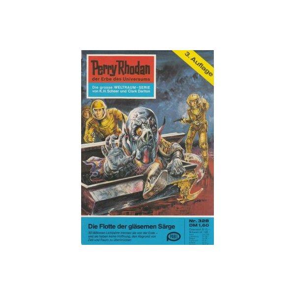 Moewig Perry Rhodan 3. Auflage Nr.: 328 - Voltz, William: Die Flotte der gläsernen Särge Z(1-2)