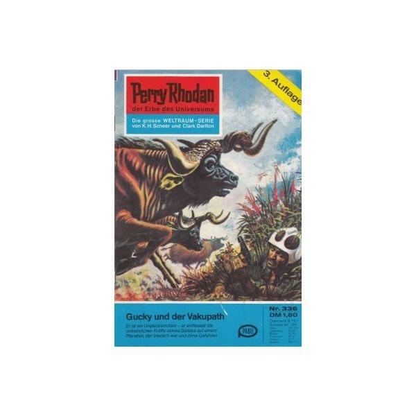 Moewig Perry Rhodan 3. Auflage Nr.: 336 - Darlton, Clark: Gucky und der Vakupath Z(1-2)