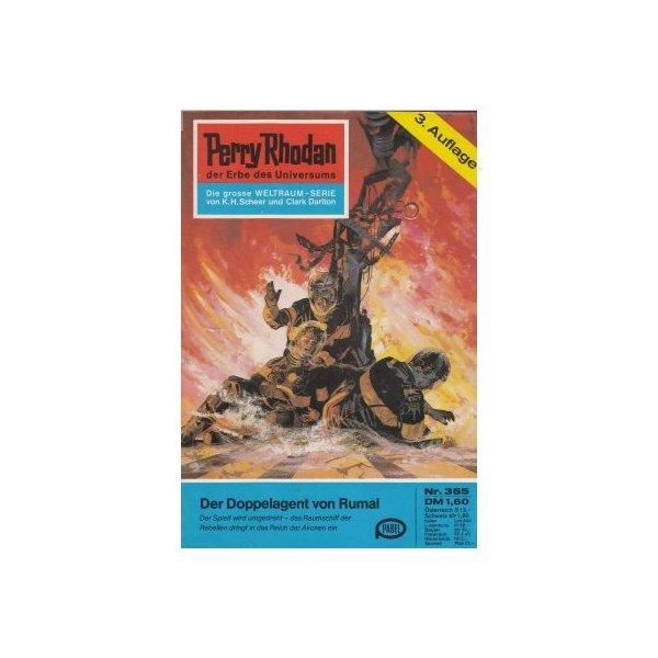 Moewig Perry Rhodan 3. Auflage Nr.: 355 - Voltz, William: Der Doppelagent von Rumal Z(1-2)