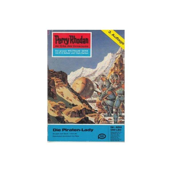 Moewig Perry Rhodan 3. Auflage Nr.: 404 - Voltz, William: Die Piraten-Lady Z(1-2)