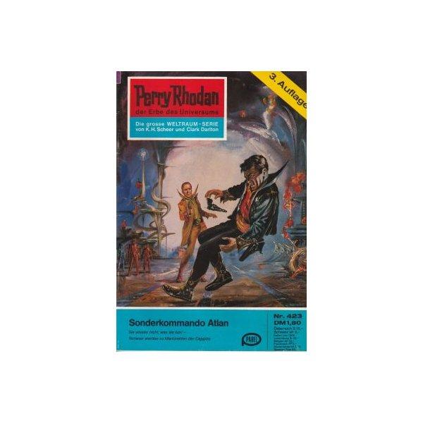 Moewig Perry Rhodan 3. Auflage Nr.: 423 - Darlton, Clark: Sonderkommando Atlan Z(1-2)