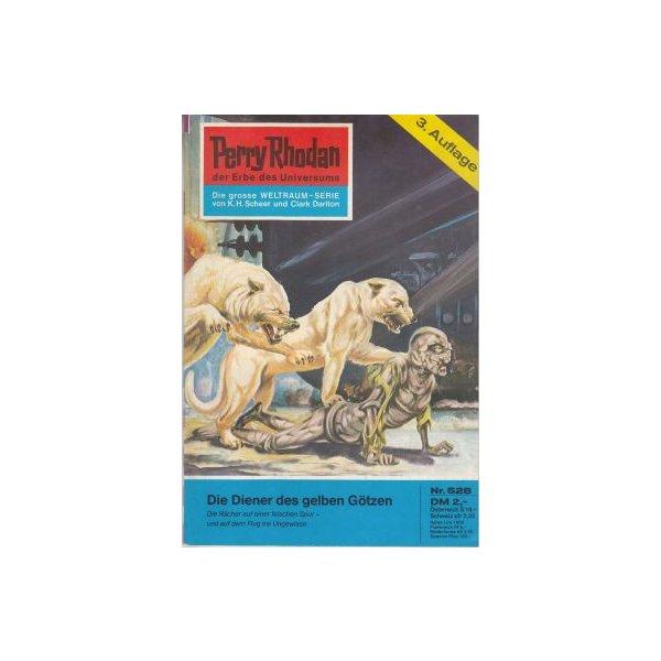 Moewig Perry Rhodan 3. Auflage Nr.: 528 - Kneifel, Hans: Die Diener des gelben Götzen Z(1-2)