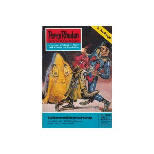 Moewig Perry Rhodan 3. Auflage Nr.: 536 - Vlcek, Ernst: Götzendämmerung Z(1-2)