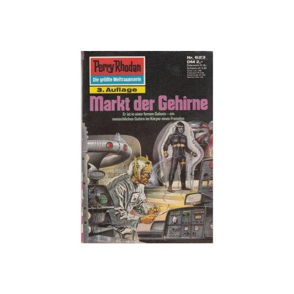 Moewig Perry Rhodan 3. Auflage Nr.: 623 - Voltz, William: Markt der Gehirne Z(1-2)